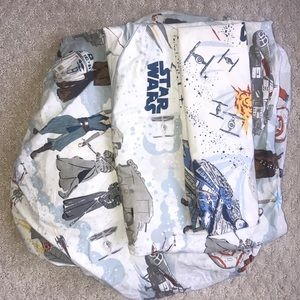 Pottery barn Star Wars organic cotton twin set